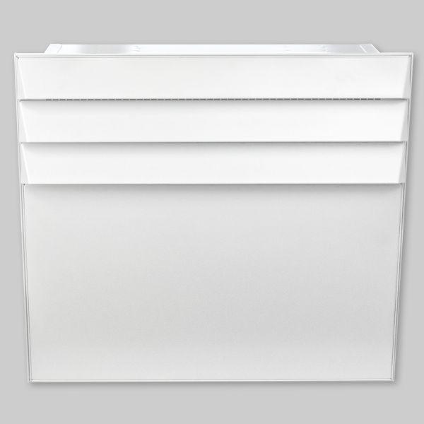9016-OAWS Open Air Wall mit Stahlfront und VA Bowdenzug und Unterputzhebel, weiß-1