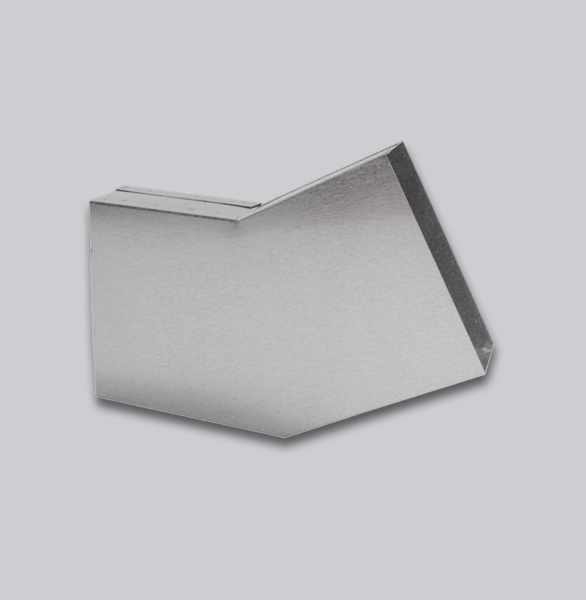 3066-FKB Flachkanal Bogen 30° mit Mittelsteg 300 x 90 mm-1