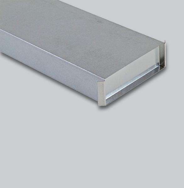 3900-FKE Flachkanal Endkappe 150 x 50 mm-1
