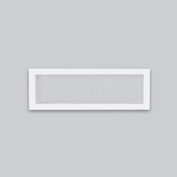 1335-OASK Open Air 104 SK Ventilationsleiste mit Gittergewebe, 520 x 180 mm, weiss-1
